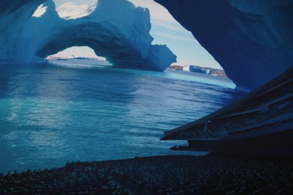 Iceberg Interior - MSG Sphere - London